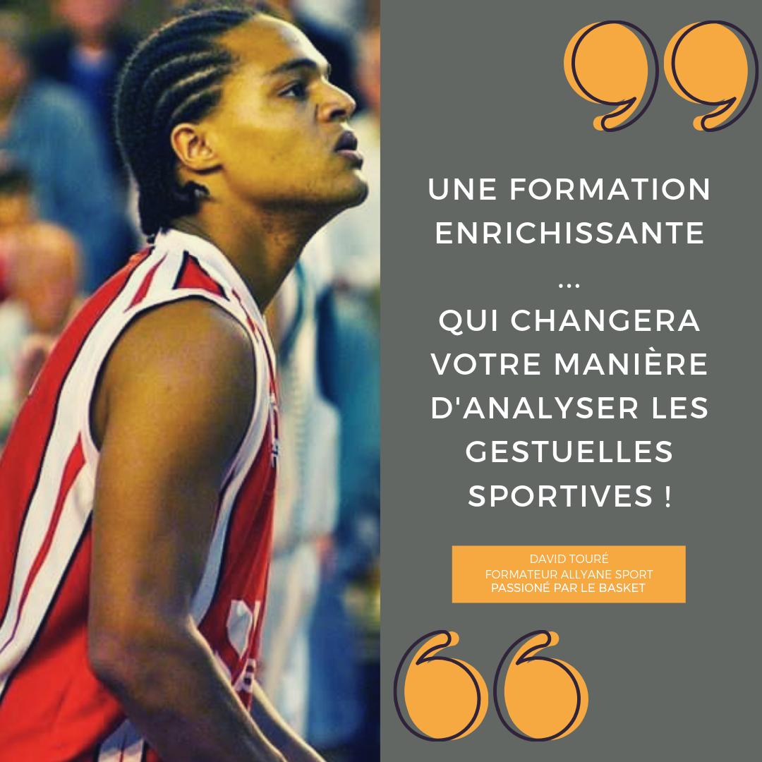 Témoignage de David Toure, praticien et formateur Allyane Sport